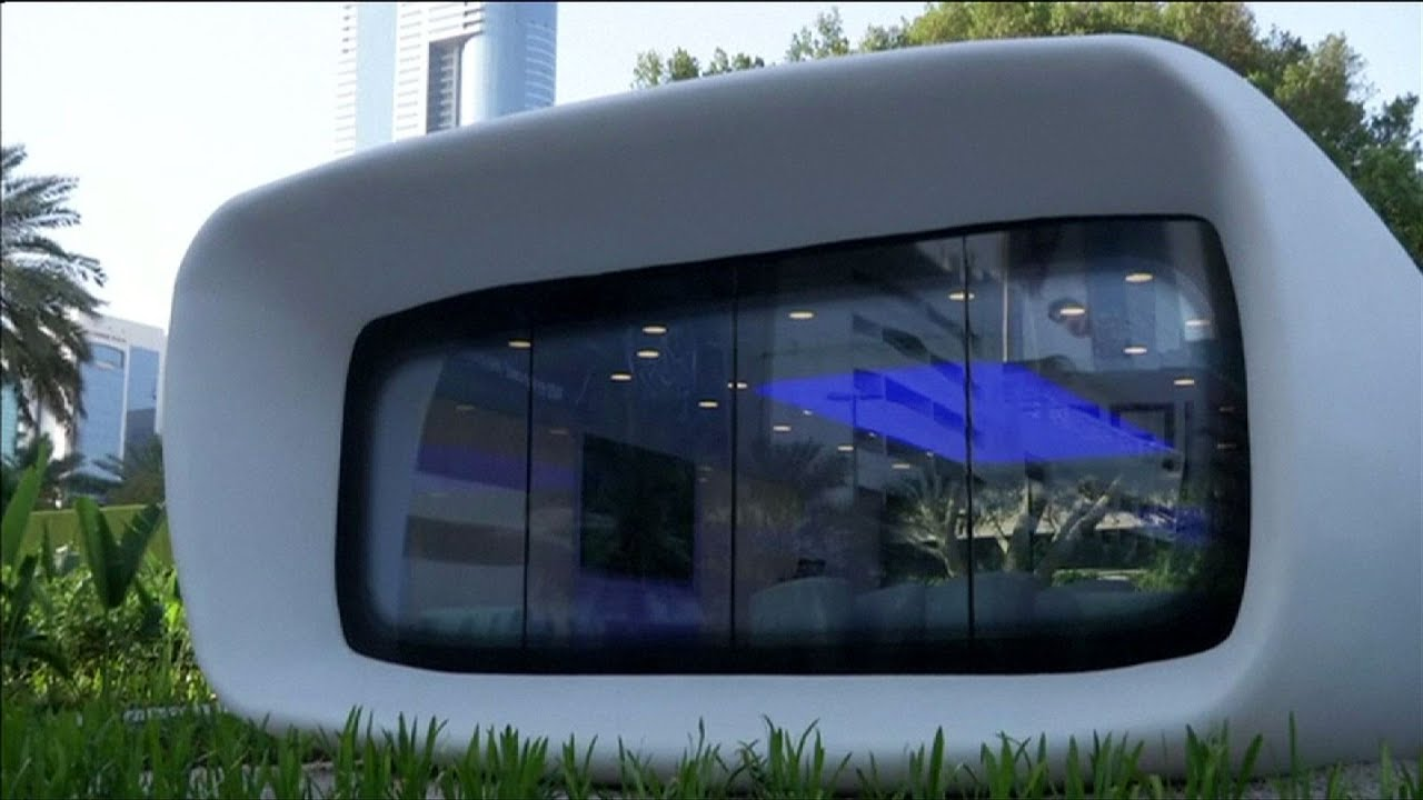 dubai launches worlds first functional 3d printed office building build office video