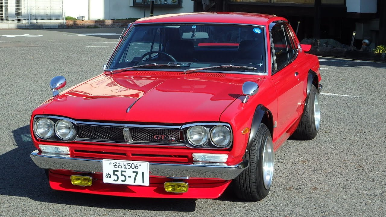 Nissan Skyline Gtr For Sale >> 1971 Skyline Hakosuka KGC10 GT-X GTR clone for sale a JDM EXPO (9602) - YouTube