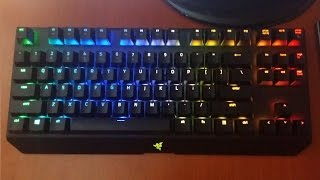 обзор Razer blackwidow X tournament edition chroma (ENG SUB review)