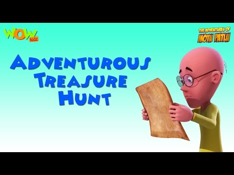 Adventurous Treasure Hunt- Motu Patlu Compilation- Part 10- As seen on Nickelodeon thumbnail