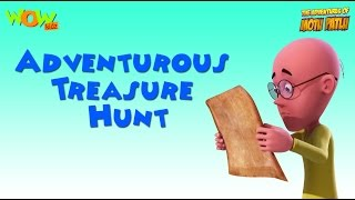 Adventurous Treasure Hunt- Motu Patlu Compilation- Part 10- As seen on Nickelodeon