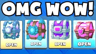 OPENING ALL OF MY CHESTS   Clash Royale LEGENDARY CHEST / EPIC CHEST / MAGICAL UNLOCKING BEST LUCK