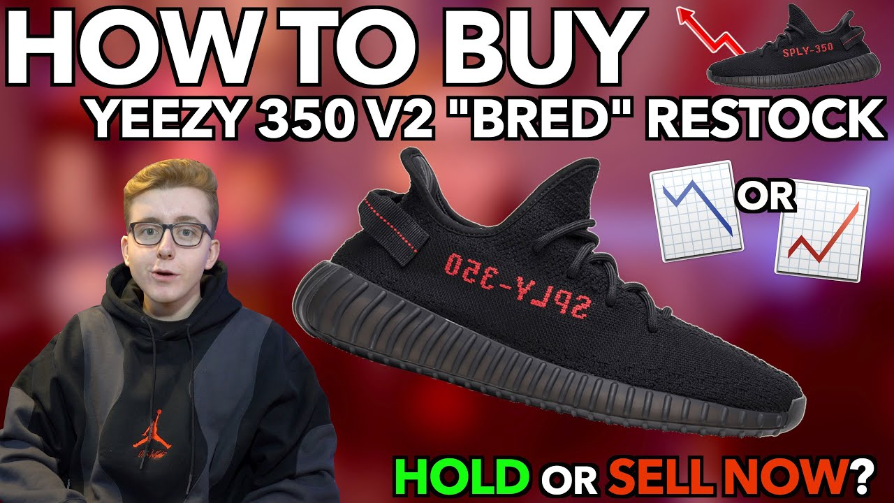 """Adidas Yeezy Boost 350 V2 """"Bred"""" Restock Leads To Immense ..."""