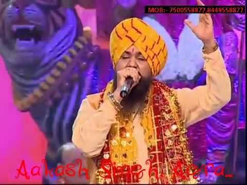 Pyara sajaa hai tera dwar bhawani ~~~Lakhbir Singh Lakha Live Navratre Special...