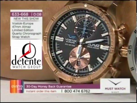 Vostok-Europe Bronze and Titanium Almaz Watch Presentation