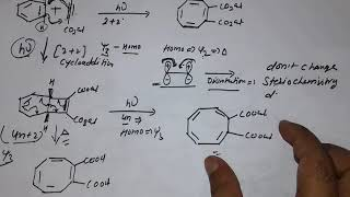 Csir net chemical science june 2018 part c solution ,pericyclic chemistry solutions with mechanism