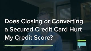 Rejected credit card hurt credit score