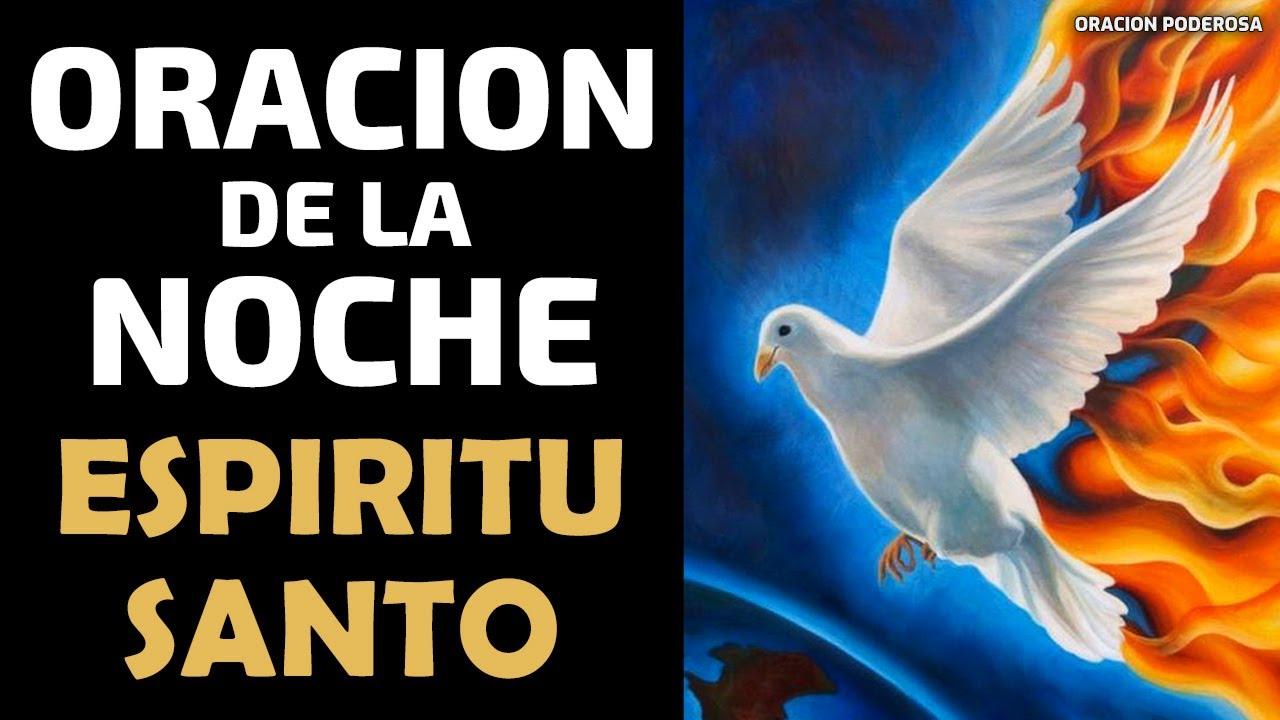 Oración de la Noche al Espíritu Santo, para antes de Dormir ✦