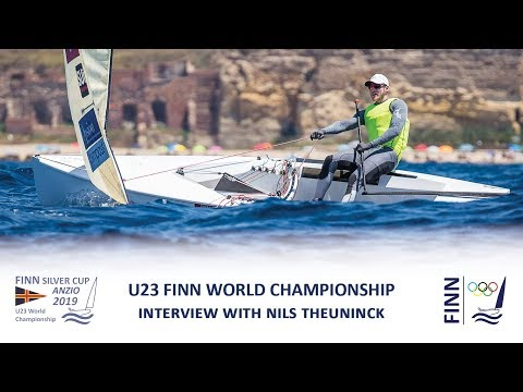 2019 Finn Silver Cup - Interview with Nils Theuninck