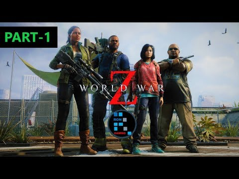 WORLD WAR Z EPISODE 1: NEW YORK   CHAPTER 1&2, SO MANY ZOMBIES ATTACKED US