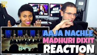 Aaja Nachle - Madhuri Dixit   Sunidhi Chauhan   REACTION