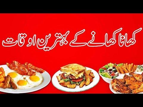 Best Time of eating meals..DR. NIDA