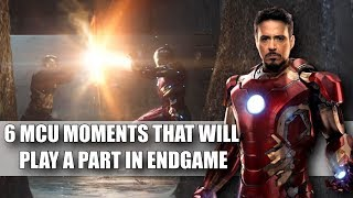 6 MCU Moments That Will Play a Big Part in Endgame (Avengers Explained)