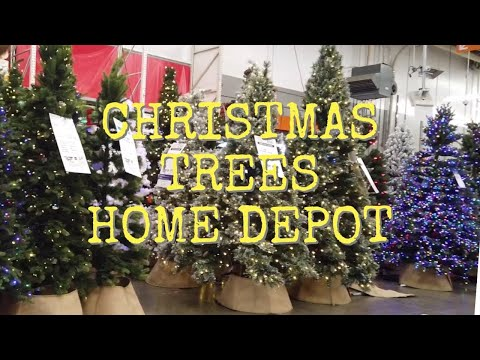 #HOME DEPOT CHRISTMAS TREES  #CHRISTMAS TREES DECORS #SANTA CLAUS