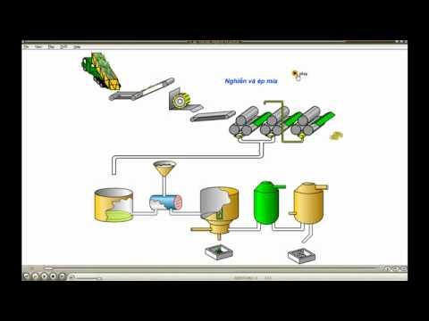 Dây chuyền sản xuất đường mía