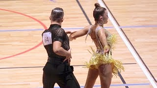 William Gauthier - Marie Denigot Hamon | FFD French Cup 2018 Mulhouse - Adult Latin - SF C