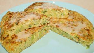 Ленивый пирог из капусты. Для тех кто не хочет долго готовить.