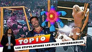TOP 10 - Les Stipulations les plus improbables dans le Catch