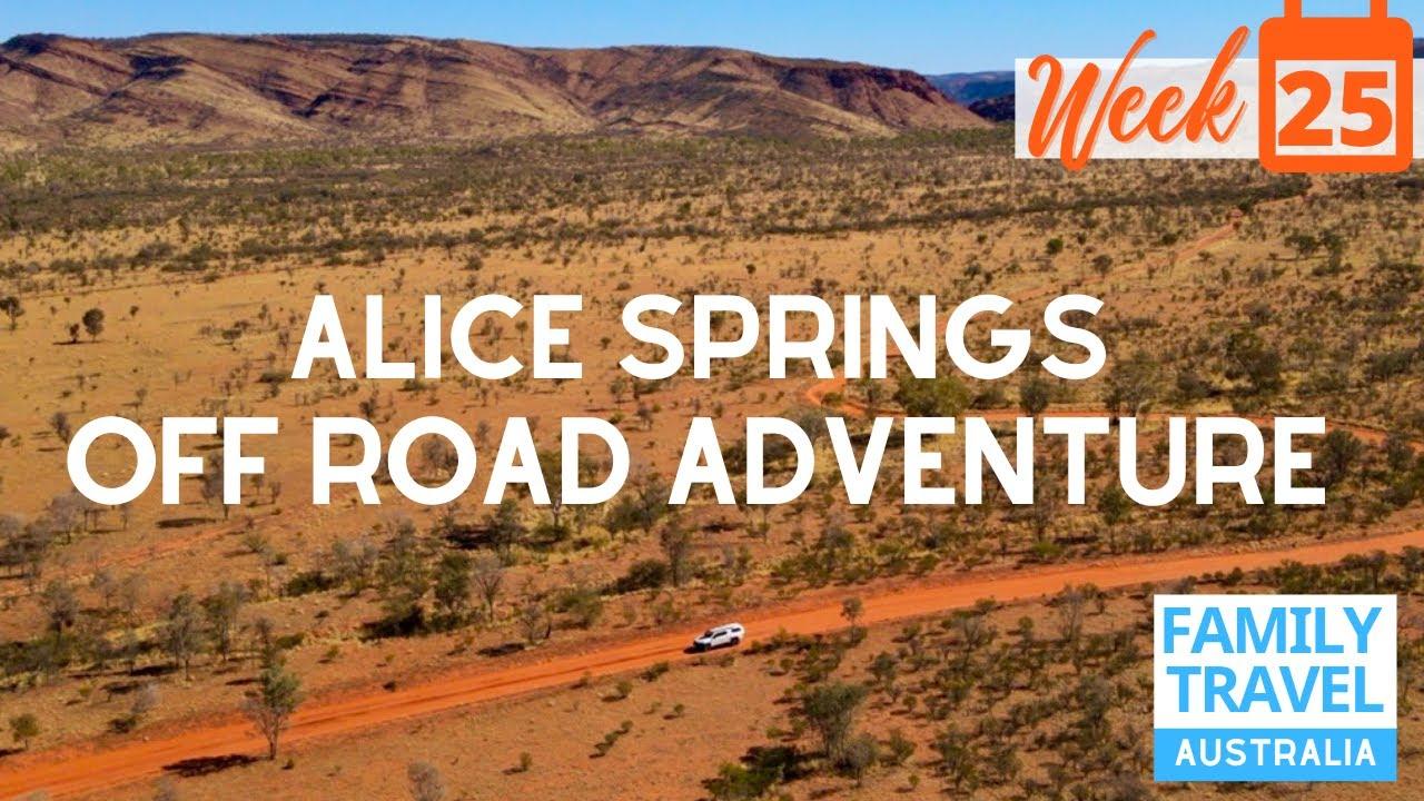 Caravan Road Safety + Road to Alice Springs & Aboriginal Rock Art