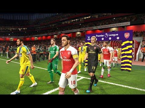 Arsenal vs Crystal Palace - Premier League 21 April 2019 Gameplay