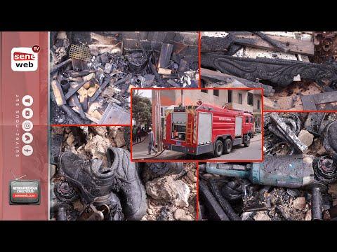 Ouakam: un colonel accusé d'avoir mis le feu dans 2 ateliers de menuiserie