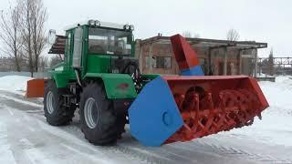 """Трактор ХТА 208.1 """"Слобожанец"""" с двумя постами управления"""