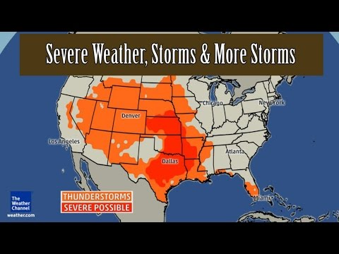 USA Forecast: Severe Weather, Storms & More Storms