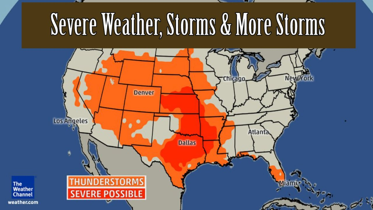 USA Forecast: Severe Weather, Storms & More Storms - Todays Weather