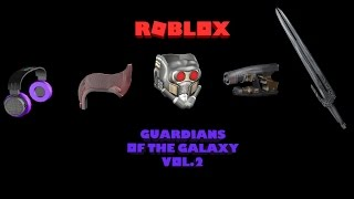 Roblox - Marvel Guardians of the Galaxy [Vol.2] (Prizes)
