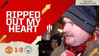 THIS CLUB'S A SLOW DEATH! Man United 1-3 Man City Semi-Final EFL CUP | Andy Tate Fan Cam