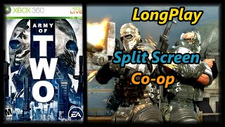 Army of Two - Longplay Split Screen Co-op Full Game Walkthrough (No Commentary) (Xbox 360, Ps3)