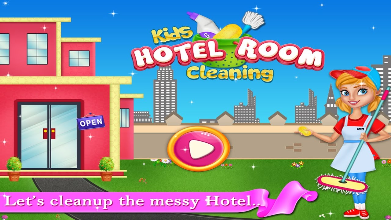 Fun Baby Games   Kids Hotel Room Cleaning   Kids Game Trailer By Crazyplex  LLC