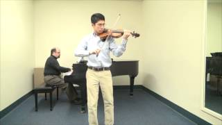 Northeastern Music Scholarship Audition (Violin)