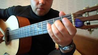 как играть на гитаре Тимур Муцураев-Жизнь прошла.Вступление