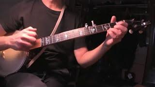 Billy in the lowground - melodic clawhammer banjo version (Pennington rim banjo)