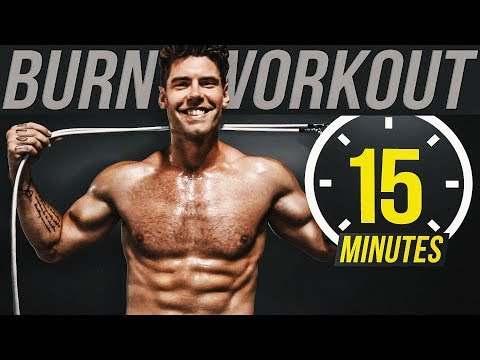 15 Min Jump Rope Workout For Weight Loss