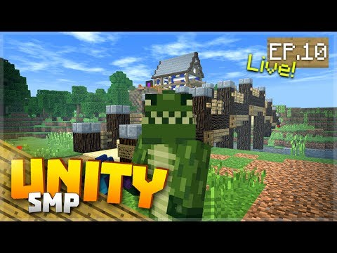TIME TO ENCHANT & THE BEST FISHING ROD! EP.10 - Minecraft Pocket Edition Unity Realms SMP