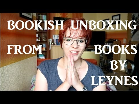 A SQUEALY UNBOXING // COLLAB WITH BOOKS BY LEYNES