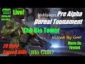 Unreal Tournament Pre Alpha, 28 Kills, The Bio Tower wt The Bio Gun!