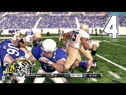 NCAA Football - Part 4 - Navy Midshipmen vs Air Force Falcons