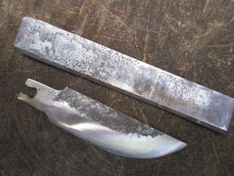 Нож из ножа рубанка своими руками