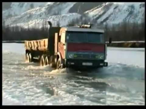 Колымская трасса видео