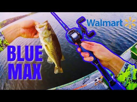 Abu Garcia BLUE MAX Review Walmart Combo
