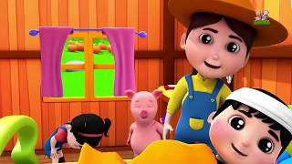 cute Jack and Jill Went Up The Hill   Nursery Rhymes Kids Songs   Part 1 Baby Rhymes by Farmees