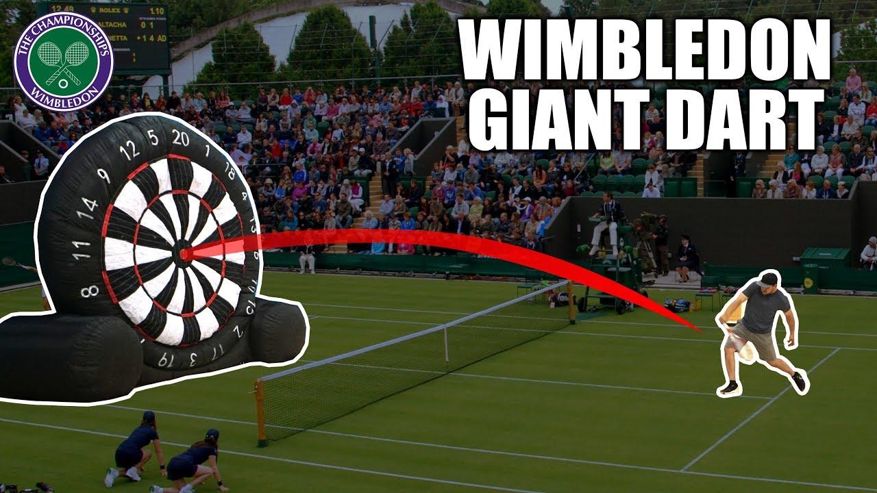 WIMBLEDON Giant Tennis-Dart Competition   SweetSpotSquad