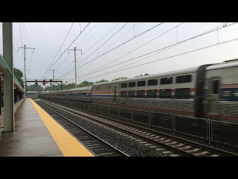 Amtrak Silver Meteor 97 With New Viewliner II Dining Car