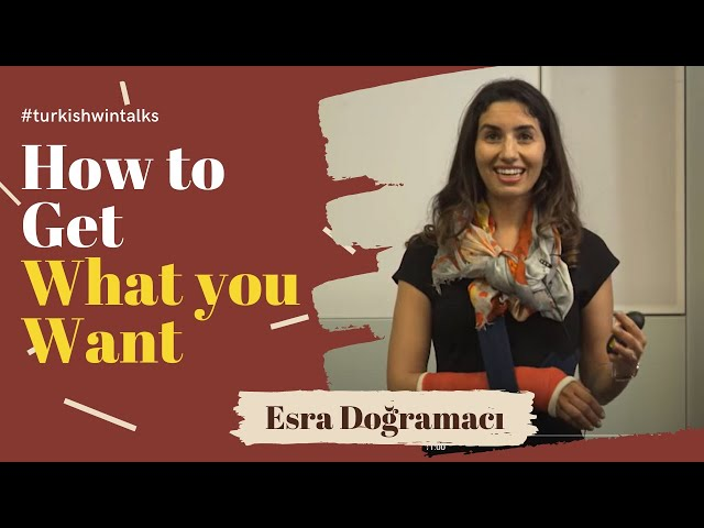 Esra Dogramaci | How to Get What you Want