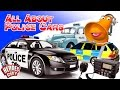 All about Police Cars - Heroes of the City - Educational and fun learning