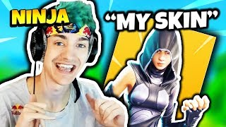 NINJA CLAIMS THE FATE SKIN | Fortnite Daily Funny Moments Ep.110