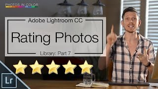 Lightroom 6 tutorial - Lightroom organisation with Stars flags and color rating